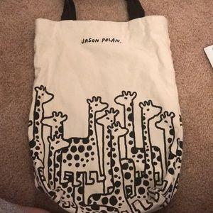 Uniqlo x Jason Polan. Limited edition tote bag.